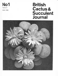 BCSS Journal 01/1984