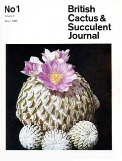 BCSS Journal 01/1985
