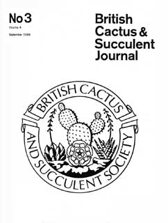 BCSS Journal 03/1986