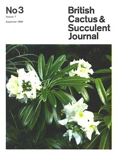 BCSS Journal 03/1989